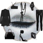 Glam Rock Chic Style