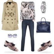 pastel oxfors shoes feminine romantic