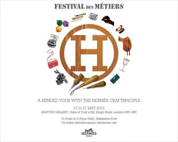 festival des métiers - a rendez-vous with the hermès craftspeople