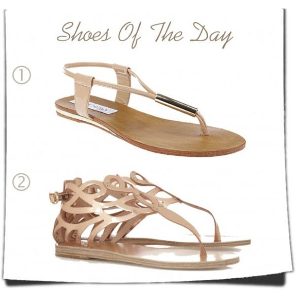 How to wear rose pastel sandals