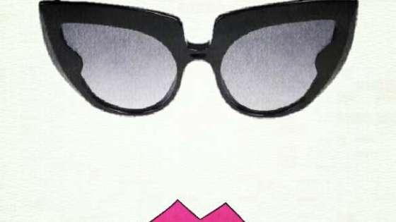 Barn's black sunglasses